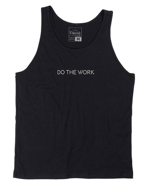 Load image into Gallery viewer, Do The Work tank, black