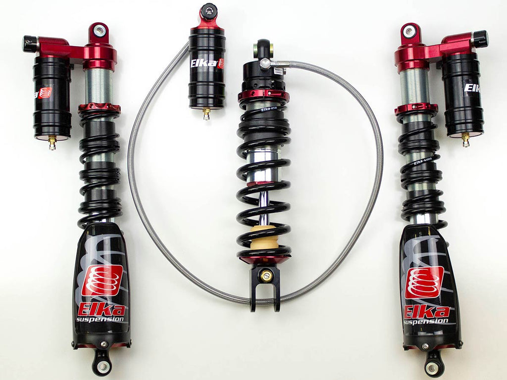 Elka Legacy Shocks: A New Look with Optional Rebound Adjustment!