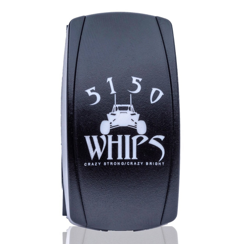 5150 WHIPS ROCKER SWITCH - FullFlight Racing  | 5150 WHIPS ROCKER SWITCH | 5150 WHIPS | FullFlight Racing