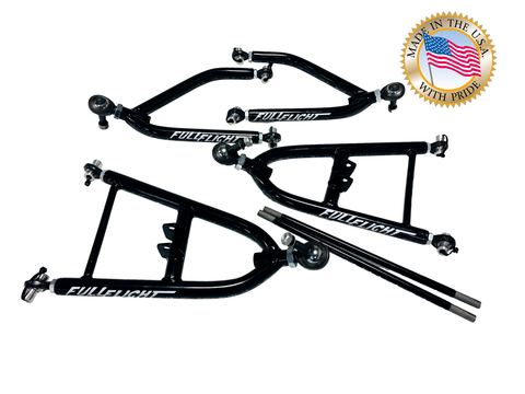 Fullflight Racing PRO Series ATV A-arms with Chromoly Hardware - FullFlight Racing  | Fullflight Racing PRO ATV A-arms with Chromoly HardwareULLFLIGHT RACING PRO EXTENDED ATV A-ARMS W/ CHROMOLY HARDWARE | FullFlight Racing | FullFlight Racing