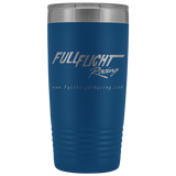 Fullflight Racing 20 ounce Vacuum Tumbler - FullFlight Racing  | Tumblers | teelaunch | FullFlight Racing