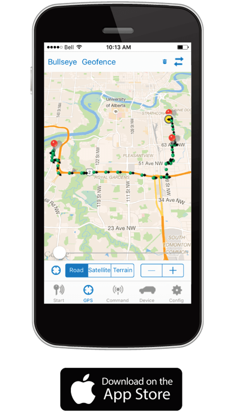 Plug N Track GPS iPhone App