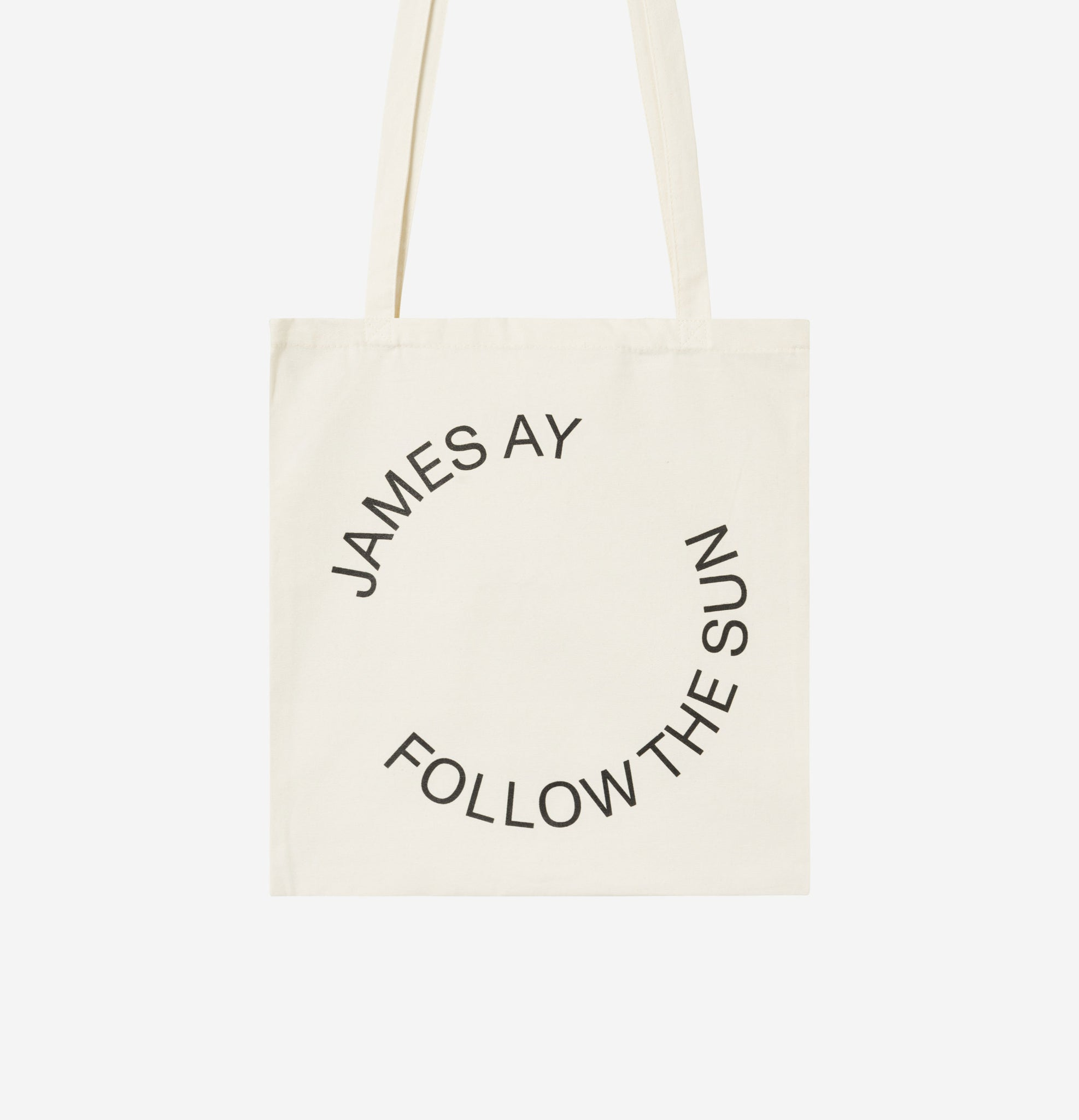 Organic tote bag - Off white - James Ay
