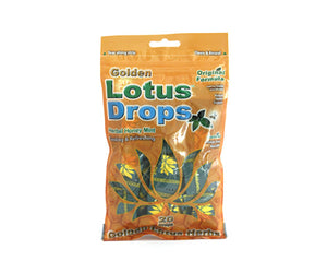 Golden Lotus Drops - Herbal Honey Mint