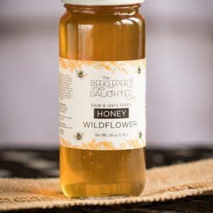 Raw Honey - wild flower