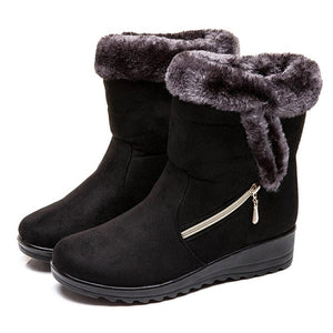 Women Snow Boots Women Winter Shoes Ladies