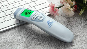 Amplim Non-Contact Touchless Infrared Digital Forehead Thermometer for Adults and Baby Hospital Medical Grade No Touch: Industrial & Scientific