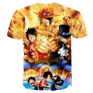 Men Women Anime  One Piece 3d   The king of the