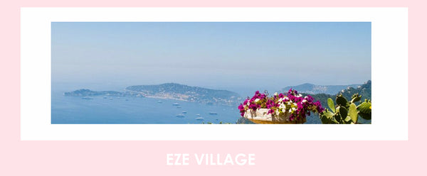 The spectacular view from Eze Village, Cote D'Azur, South of France
