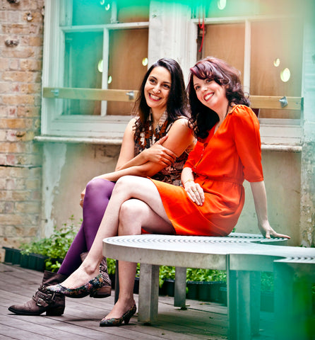 OAK Jewellery founders Jo-anne Owdud and Parul Tolentino