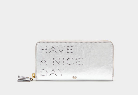 Have a nice day purse by Anya Hindmarch