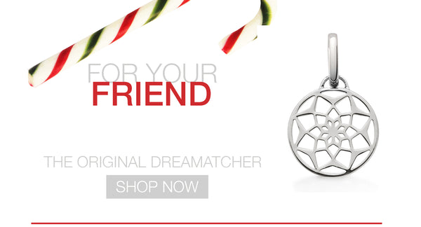 The Original Dreamcatcher sterling silver charm by OAK Jewellery