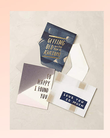 anthropologie stationary