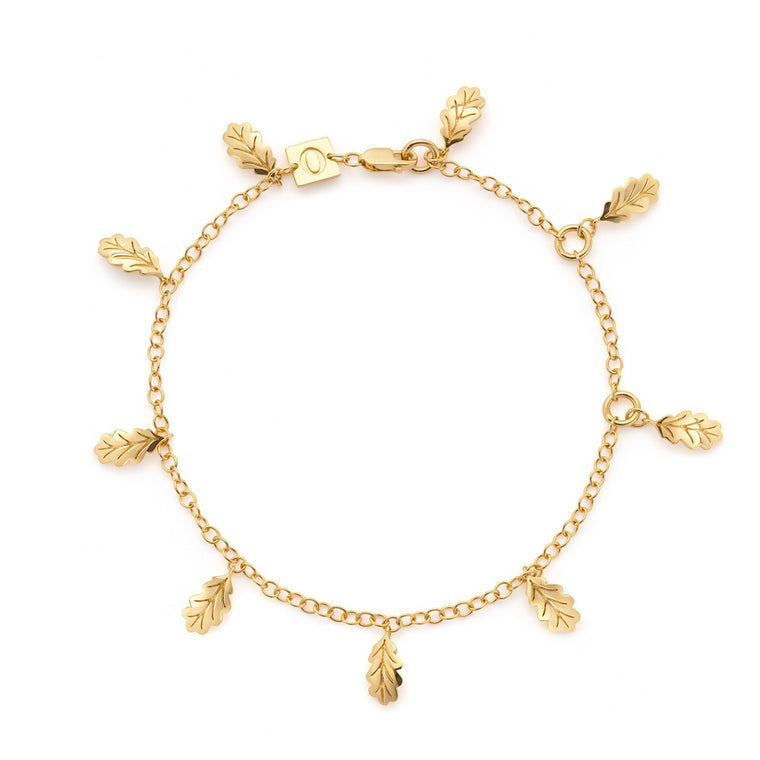 Swept Away Leaf Bracelet