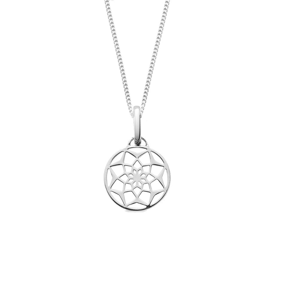 The Original Dreamcatcher Short Necklace, Silver, Sale