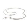 Sterling silver curb chain by OAK jewellery