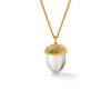 'A Life Within' Diamond Acorn Necklace