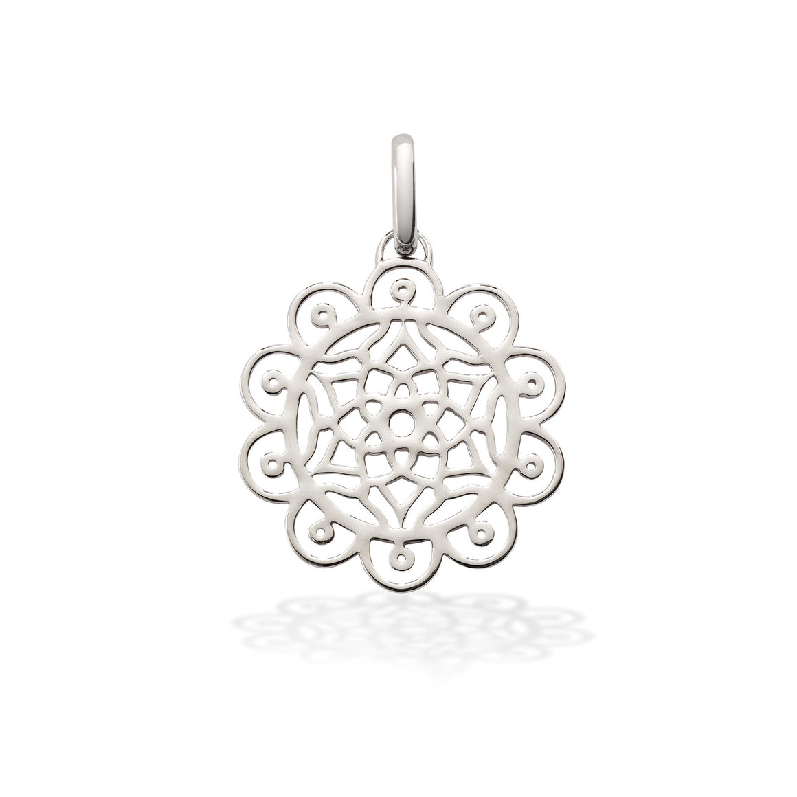 Amazing dreams pendant charm in silver by OAK Jewellery