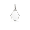 White Buddha Pendant Charm by OAK Jewellery