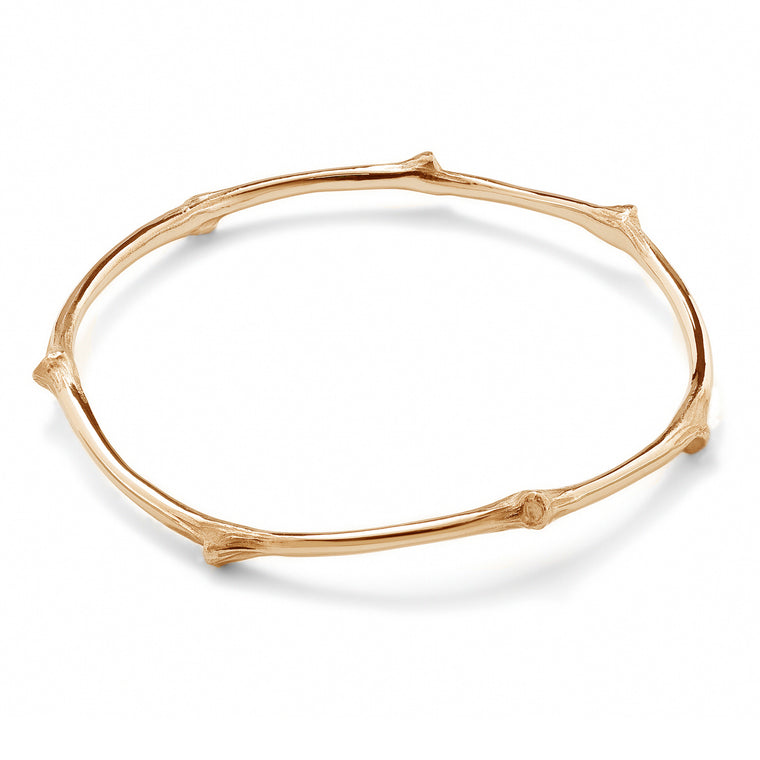 Branch Bangle, Rose Gold