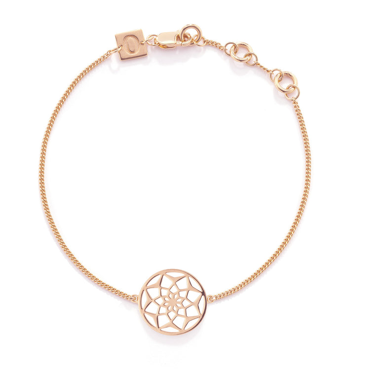 The Original Dreamcatcher Bracelet, Rose Gold