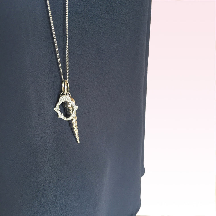 The Buddha & The Unicorn Necklace, Long