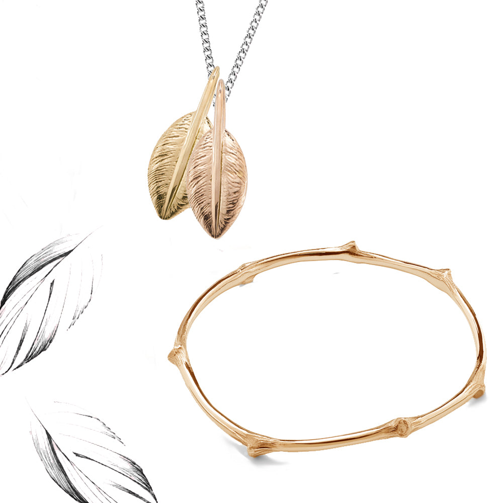 Feathers and Branches of Love Gift Set