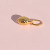 Personalise your necklace with this gold lemon charm by OAK Jewellery