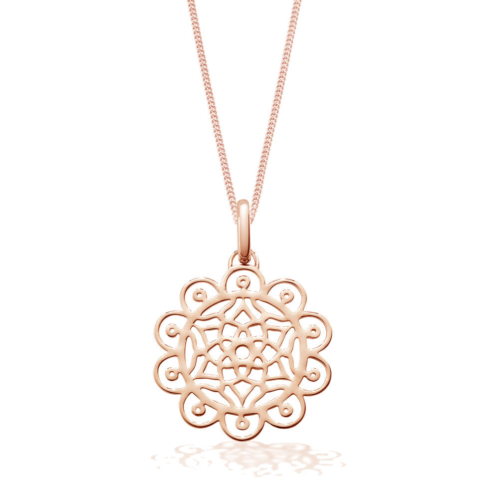 Amazing Dreams Rose Necklace, Short