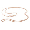 Rose Gold Branded Curb Chain By OAK Jewellery