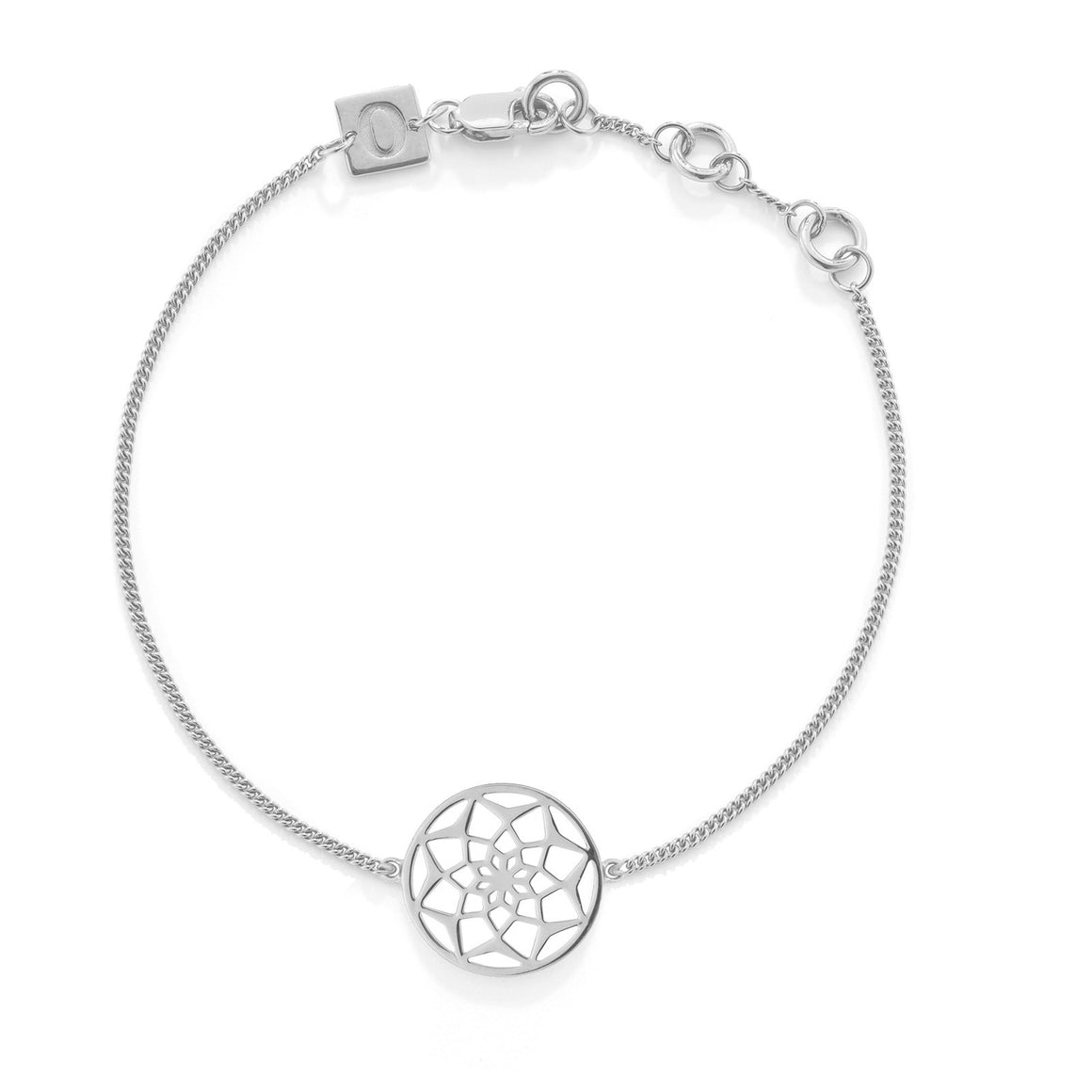 The Original Dreamcatcher Bracelet, Silver