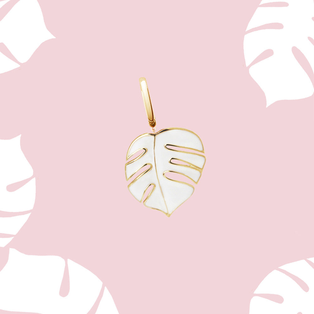 palm necklace charm