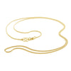 Branded Yellow Gold curb chain by OAK Jewellery
