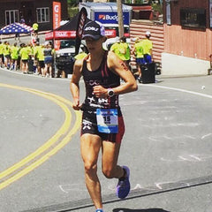 Beth Shutt at Ironman Lake Placid