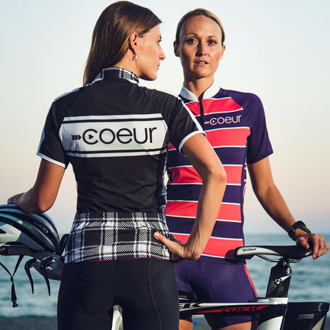 Coeur Cycling Clothing on Models