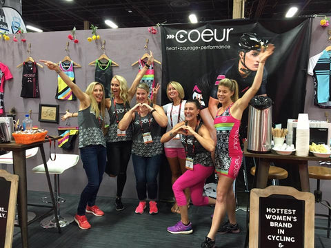 Coeur Sports at Interbike