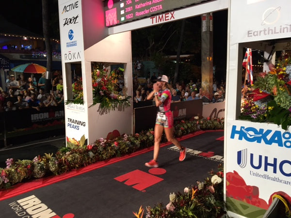 Ironman Hawaii Finish