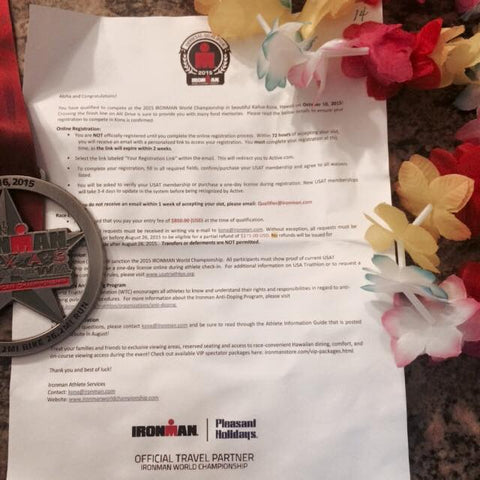 Kona Qualification Letter