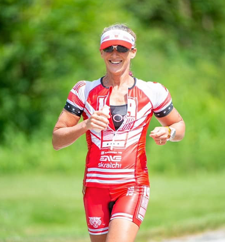 Michelle Simmons Triathlete