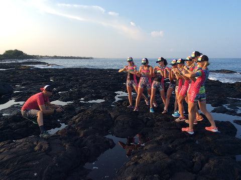 Coeur Ambassador Team at Ironman Hawaii