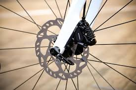 Disc Brakes on Bicycle