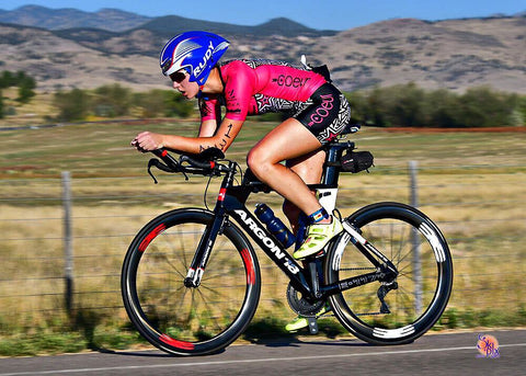 An Ambassador for women's triathlon clothing brand Coeur Sports