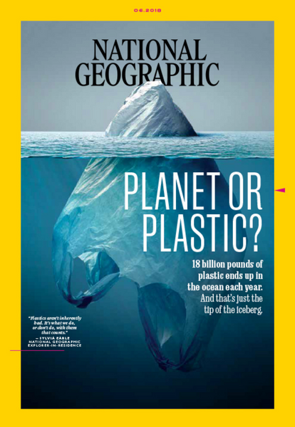 Cover of National Geogrpahic Magazine