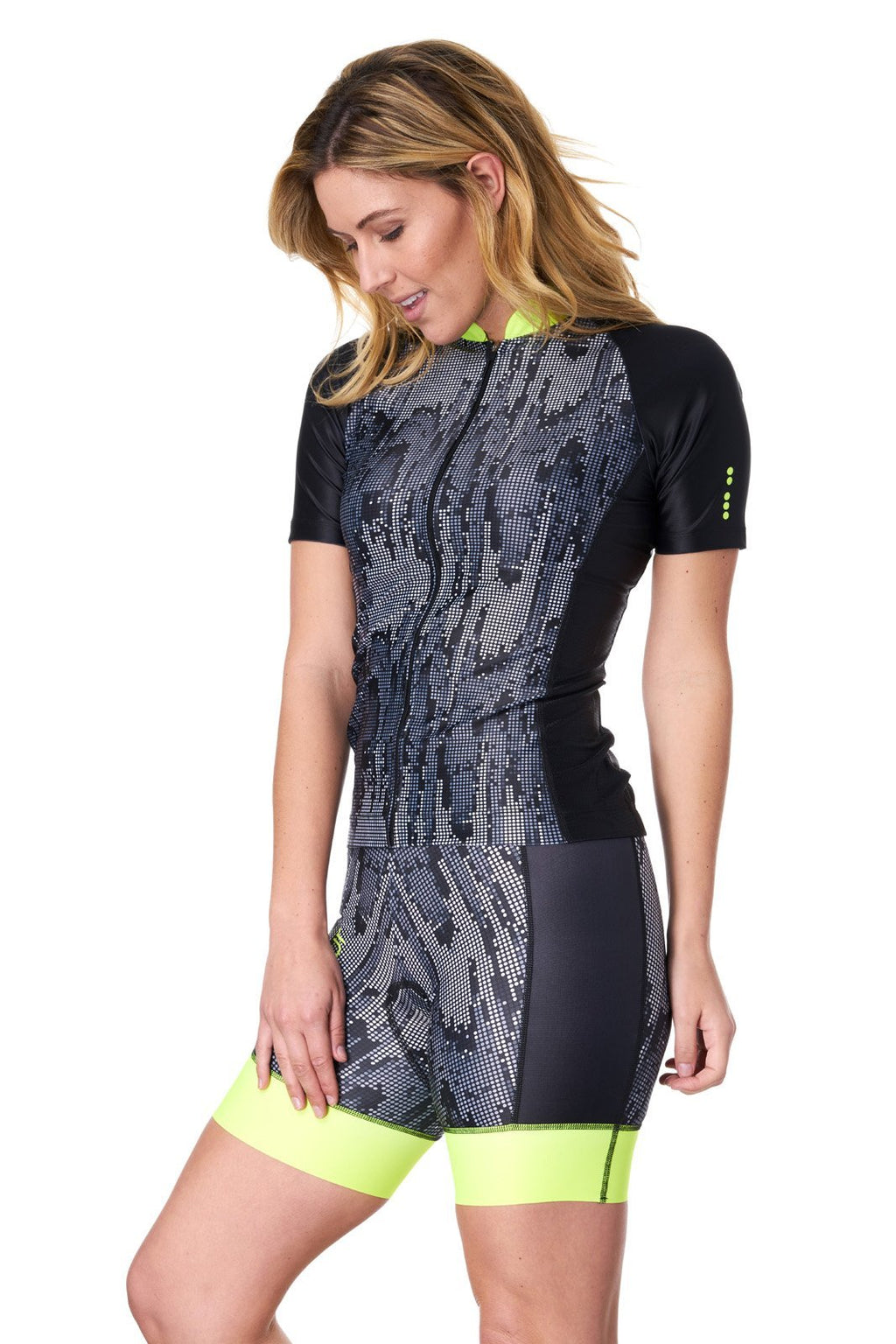 Coeur Cycling Jersey Women's Cycling Jersey in Matrix