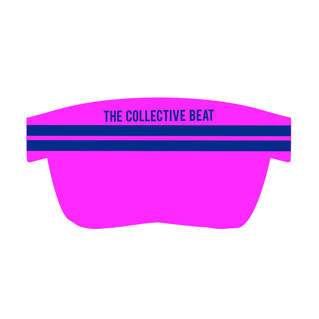 Coeur Sports Accessories One Size Fits All / Blue Presale! Collective Beat 2020 Visor - Ships Early Dec 19