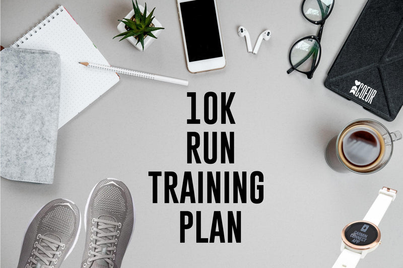 Coeur Sports accessory Default Title Women's 10K Run Training Plan