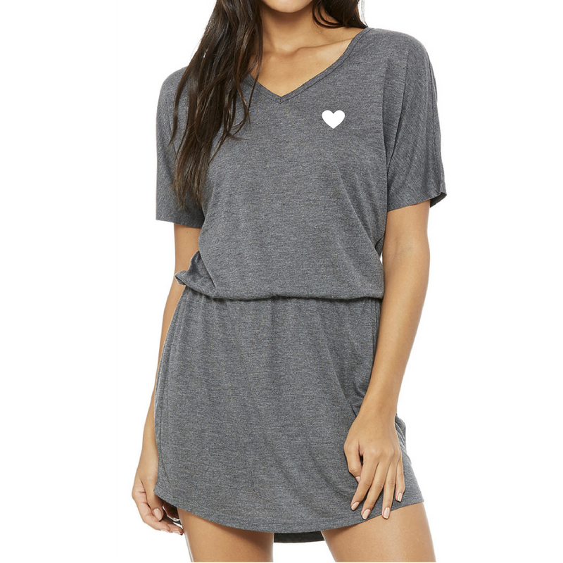Coeur Sports accessory Heart Mini Dress
