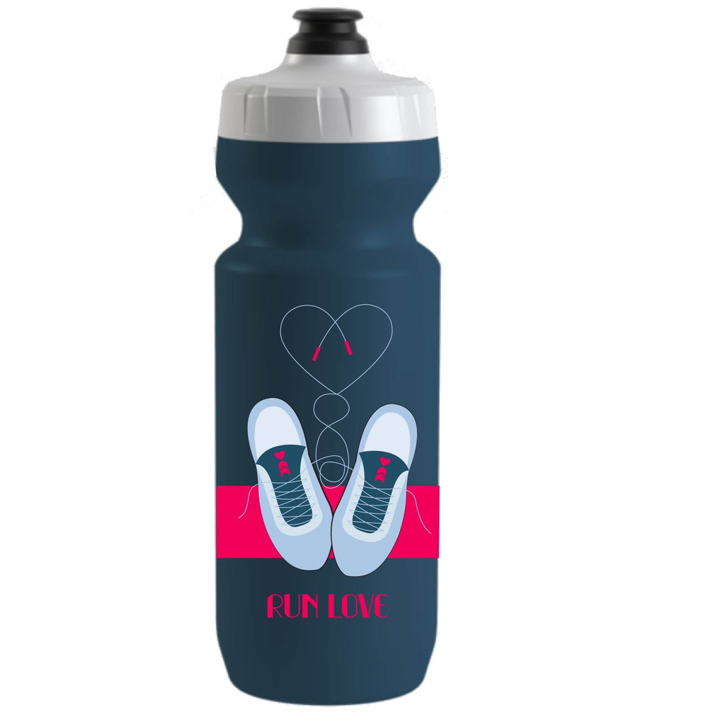 Coeur Sports accessory Hot Pink Run Love water Bottle