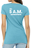 Coeur Sports accessory It's 5 A.M. Somewhere Tee