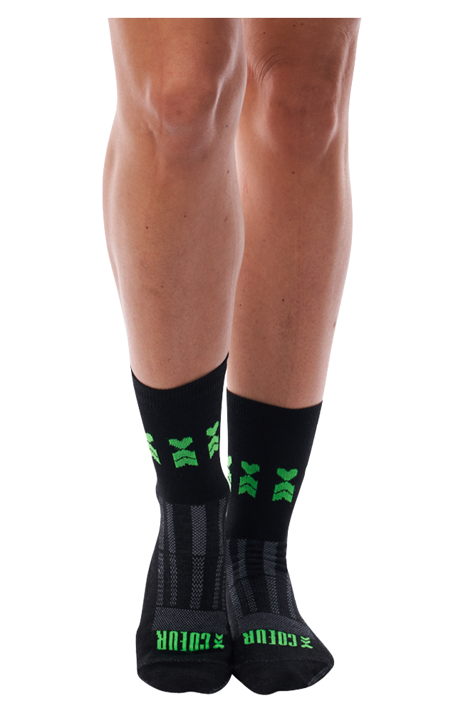 Coeur Sports accessory One Size / black Viper Wool Sock